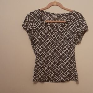 WORN ONCE. Petite blouse
